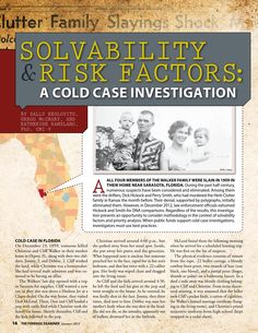 Case study theft and murder unraveled by forensic investigation issuu the forensic examiner sample summer 2013 by cnta inc fandeluxe Choice Image