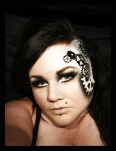 Steam Punk http://www.makeupbee.com/look_Steam-Punk_39770