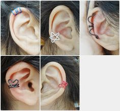 Essas Frescurites aí : Como fazer/DIY: Ear cuff