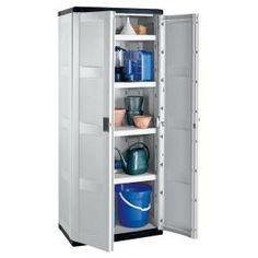 Keter XL Plus Heavy Duty Plastic Storage Cabinet in 2020 ...