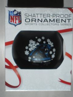 "NFL Carolina Panthers Shatterproof Ball Ornament, 3.125"", Black Topperscot by Boelter Brands http://www.amazon.com/dp/B00P86N012/ref=cm_sw_r_pi_dp_2sK2wb06FC3TT"