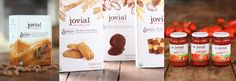 We love those 3 types of cookies in the middle there. Jovial brand made with ancient einkorn wheat. A tad sweet treat is ideal!
