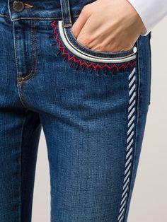 Compre Stella McCartney Calça Jeans Skinny in Marissa Kollektionen der weltbest. Compre Stella McCartney Calça Jeans Skinny in Marissa Kollektionen der weltbesten unabhängigen . ideas for jeans Denim Ideas, Denim Trends, Skinny Jeans Damen, Jean Diy, Diy Vetement, Mode Jeans, Women's Jeans, Denim Shorts, Clothes 2018
