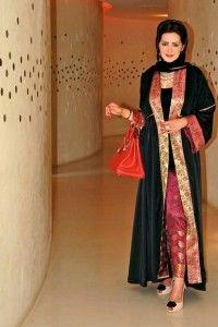 Like how the pants match the abaya.
