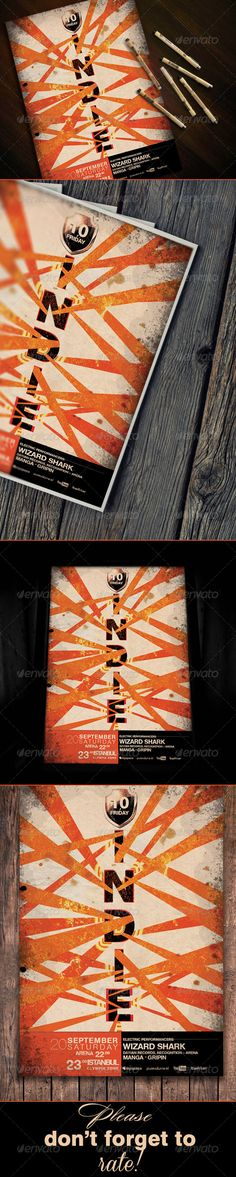 Indie Poster / Flyer Template - Events Flyers