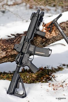 AR-15 SBR by S.Dobbins, via Flickr In love with the buttstock