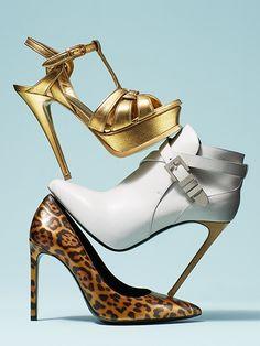 YSL shoes still life styled by stillanna.com