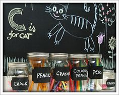 Chalkboard In A Roll. A self-adhesive chalkboard that comes in the form of a 18 Chalkboard Contact Paper, Chalkboard Stickers, Wall Stickers, Wall Decals, Chalkboard Labels, Chalkboard Ideas, Sticky Vinyl, Dc Fix, Chalk Markers