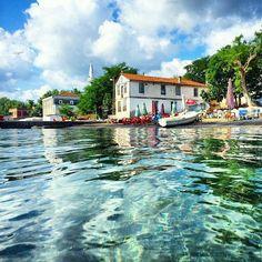 beach Perşembe, Ordu, Turkey. Perşembe, Cittaslow-Yavaş Şehirler