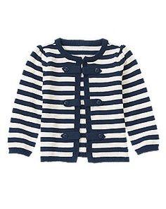 Stripe Cardigan Sweater - size 2y