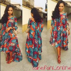 Style Spotting: @sisitola in a beautiful print dress by @larefani_online #BellaNaijaStyle #BellaNaija #BNStyle
