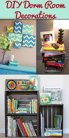 DIY Dorm Rom Decorations Definitely doing the shoe box wall art!!