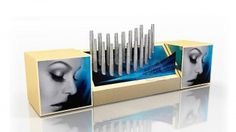 Хот Спот Cosmetics Display Stand, Cosmetic Display, Bookends, Container, Storage, Decor, Purse Storage, Decoration, Larger