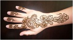 28 Easy And Simple Mehndi Designs That You Can Do By Yourself | StyleCraze