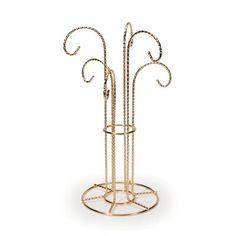 House of Hampton Brass Display Jewelry stand Tree Jewelry Holder, Jewelry Display Box, Glass Jewelry Box, Jewelry Mirror, Jewelry Chest, Key Jewelry, Jewelry Hanger, Jewelry Tree, Jewelry Stand