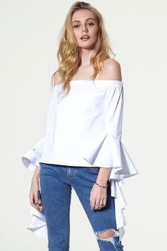 Turn It On Coldshoulder Top Discover the latest fashion trends online at storets.com