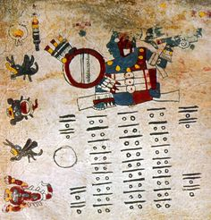 The Codex Cospi (or Codex Bologna) is a pre-Columbian Mesoamerican pictorial manuscript, included in the Borgia Group. It is currently located in the library of the University of Bologna.