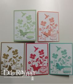 New In Colours Stampin' Up! www.debzhouse.blogspot.com/