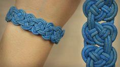 DIY Knoten-Armband - Seemannsknoten in Reihe - einfacher als es aussieht ;)