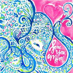 Good taste runs in the family. Happy #MothersDay #Lilly5x5