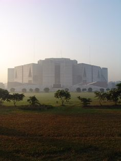 National Assembly Building of Bangladesh - Louis Kahn