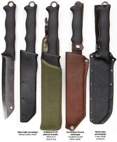 Varusteleka Skrama Mk. II bush knife, carbon steel - Varusteleka.com