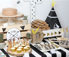 Little indians, una fiesta infantil muy original - All Lovely Party