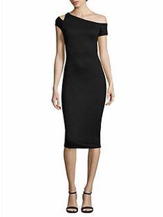 Bailey 44 - Caribbean One-Shoulder Dress