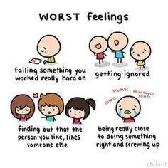 Wotst feeling