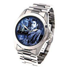 Elvis Blue Christmas Watch - Men's