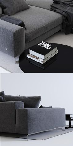 3d модели: Диваны   Busnelli Take It Easy+кофейный столик