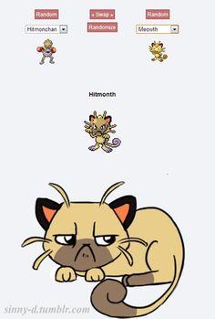 pokemon fusion pictures hitmonth
