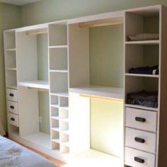 Beautiful Anna White Master Closet System