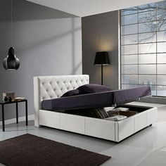 Grigio chiaro per le pareti della camera da letto una - Parete testata letto dipinta ...