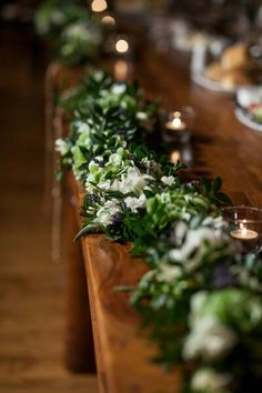 Wedding party decoration - bride's and groom's table