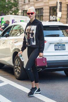 Karlie Kloss is seen heading to her gym on September 8 2017 in New York New York