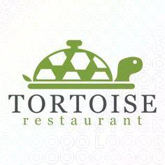 Exclusive Customizable Tortoise Logo For Sale: Tortoise Restaurant | StockLogos.com