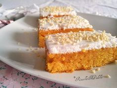 Torta glassata alle carote