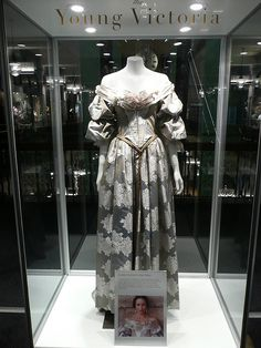 """Queen Victoria Dress #6 - Costume Exhibition from """"The Young Victoria"""" film by stonethecrow, via Flickr"""