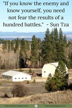 """If you know the enemy and know yourself, you need not fear the results of a hundred battles.""  - Sun Tza   #MDI"
