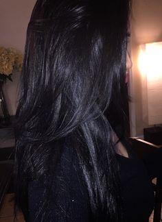 #LongLayers #BlowOut #BlackHair #RealHair Donia, Ulzzang Girl, Hair Products, Black Hair, A4, Wattpad, Ootd, Long Hair Styles, Blog