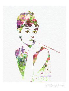 Audrey Hepburn 2 - Affischer av NaxArt på AllPosters.se