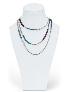 Cookie Lee - This necklace can turn into a Bracelet! LOVE LOVE LOVE!!! http://www.cookielee.biz/jessicazitzman