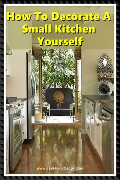 Small Kitchen Ideas to Steal So You Never Feel Claustrophobic Again. Hello, sky-high cabinets and mirrored backsplashes. Decorating Kitchen, Kitchen Decor, Mirror Backsplash, Design Your Kitchen, Modern Spaces, Sky High, Home Improvement Projects, Country Kitchen, Kitchen Ideas