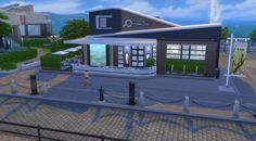 Sims Artists: Cafe Zen • Sims 4 Downloads