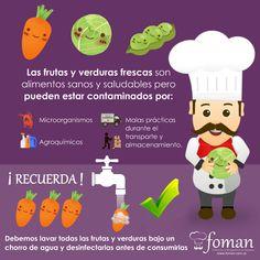 Sons and salud on pinterest for Manual de limpieza y desinfeccion para una cocina