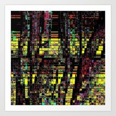 FOREST Art Print by lucborell - $24.50