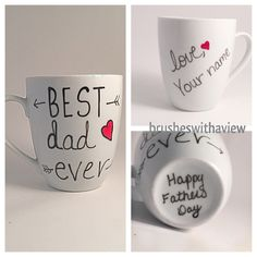 A personal favorite from my Etsy shop https://www.etsy.com/listing/235898243/fathers-day-mug-best-dad-ever-mug