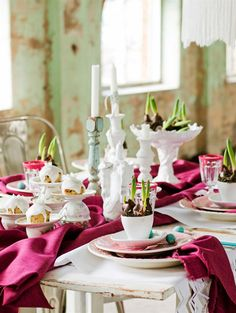 {photography: Lina Ostling for hus o hem} Bright Easter Table Decoration // Ярка Великденска декорация | 79 Ideas