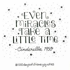Cinderella hand lettered type | Disney Quotes | © Shannon McNab